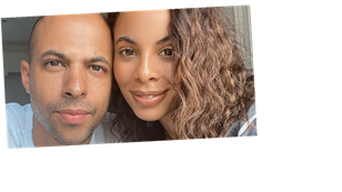 Rochelle Humes reveals scan photo of baby son and he is 'spitting image' of dad Marvin