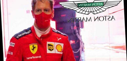 Sebastian Vettel closing in on shock move to F1 Aston Martin team next season after being dumped by Ferrari