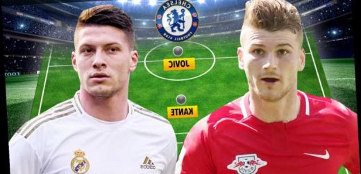 Chelsea plotting £31.3m Luka Jovic transfer to play alongside Timo Werner with Real Madrid willing to sell striker