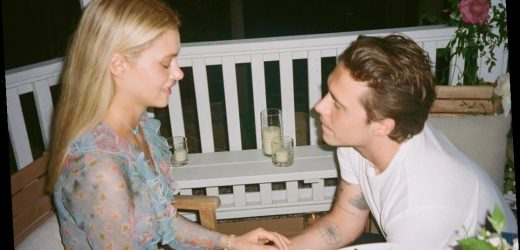 Brooklyn Beckham and Nicola Peltz Give an Intimate Glimpse Inside Their Engagement in New Photos