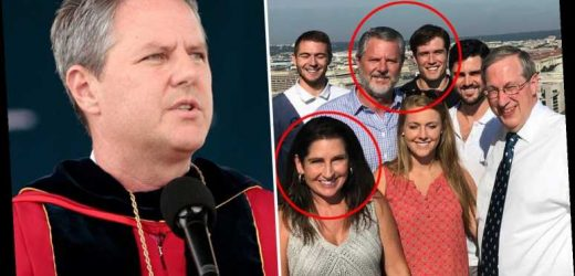 Jerry Falwell Jr set to receive $10.5M compensation after quitting Liberty University over pool boy 'cuckold' sex saga