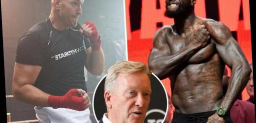 Tyson Fury tells Frank Warren to find him another fight by end of the year as travel ban hits Deontay Wilder trilogy