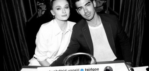 Sophie Turner sends loved up message to husband Joe Jonas for his birthday after the birth of their daughter