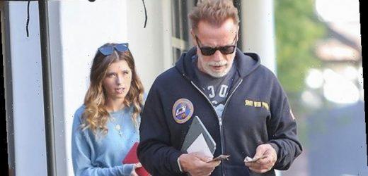 How Grandpa Arnold Schwarzenegger Celebrated The Birth Of Daughter Katherine's Newborn Baby