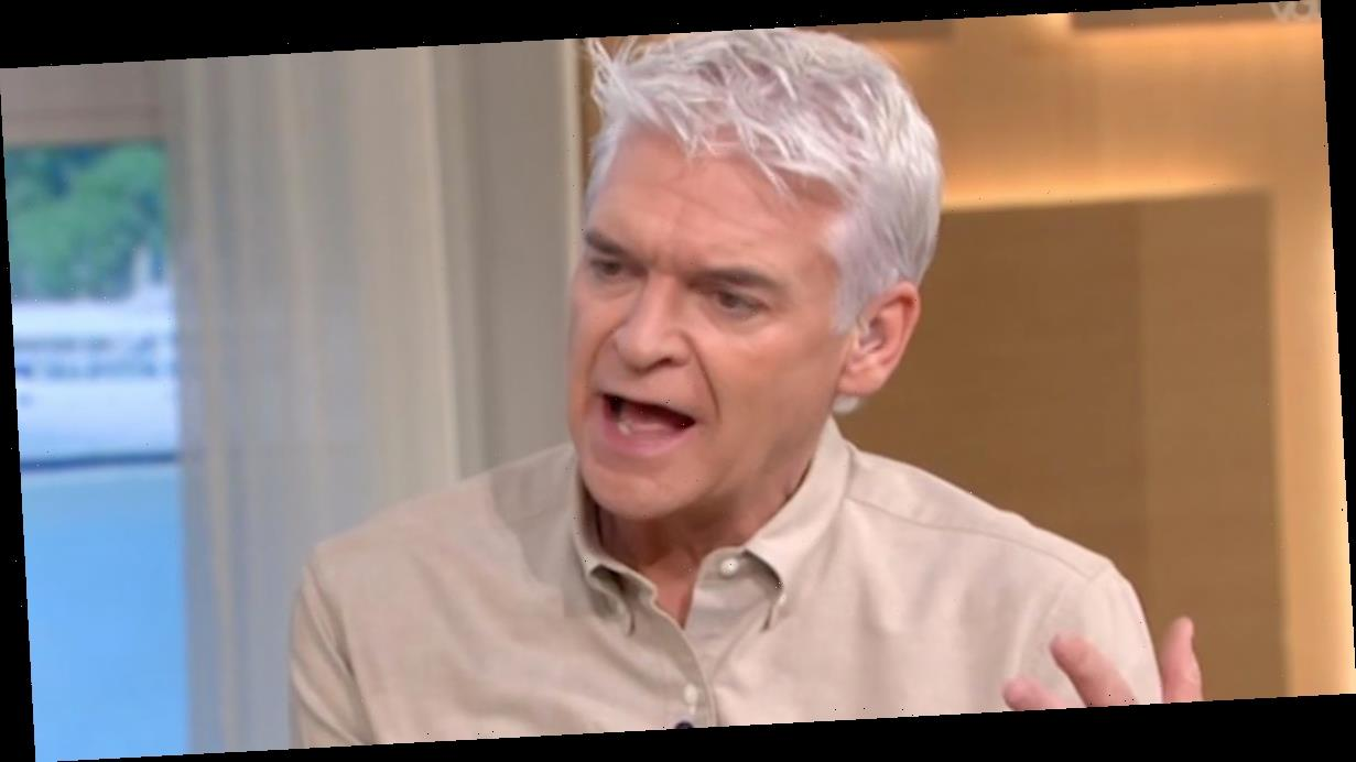 Phillip Schofield warns fans after horror bike accident causes family heartache