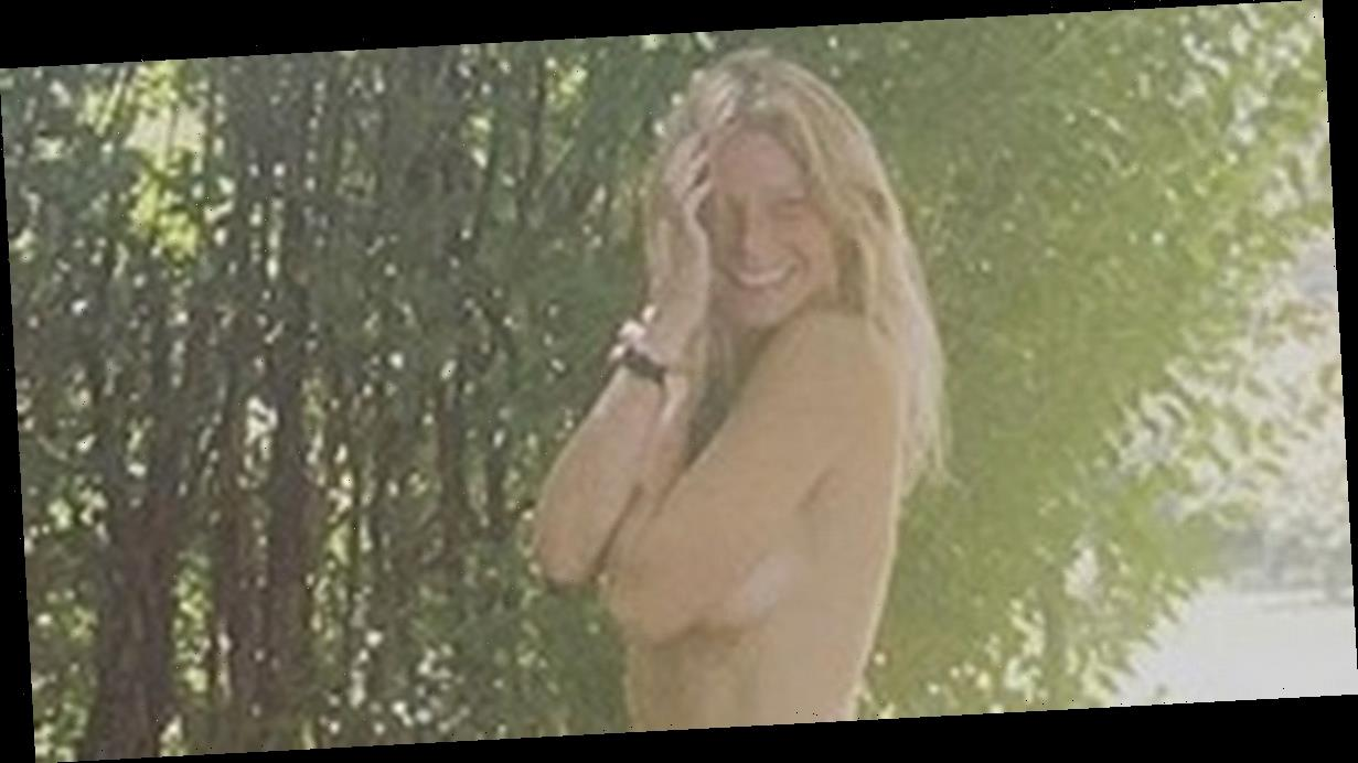Gwyneth Paltrow strips naked for racy display as she celebrates 48th birthday