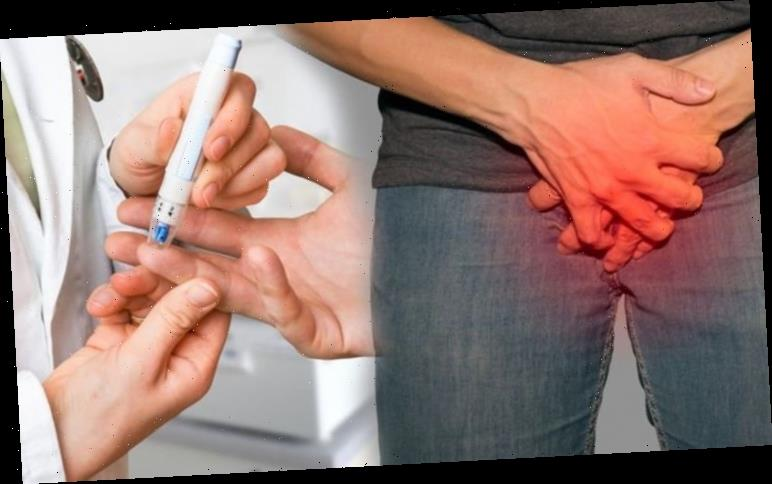 Type 2 diabetes: The sexual problem caused by nerve damage due to high blood sugar