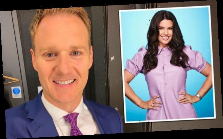 Dan Walker reacts to Rebekah Vardy Dancing On Ice 2021 news 'Huge opportunity missed'