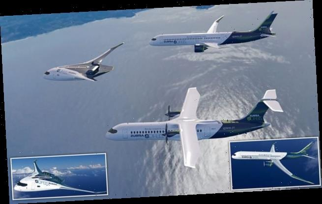 Airbus unveils concept images of an eco-friendly fleet of the future