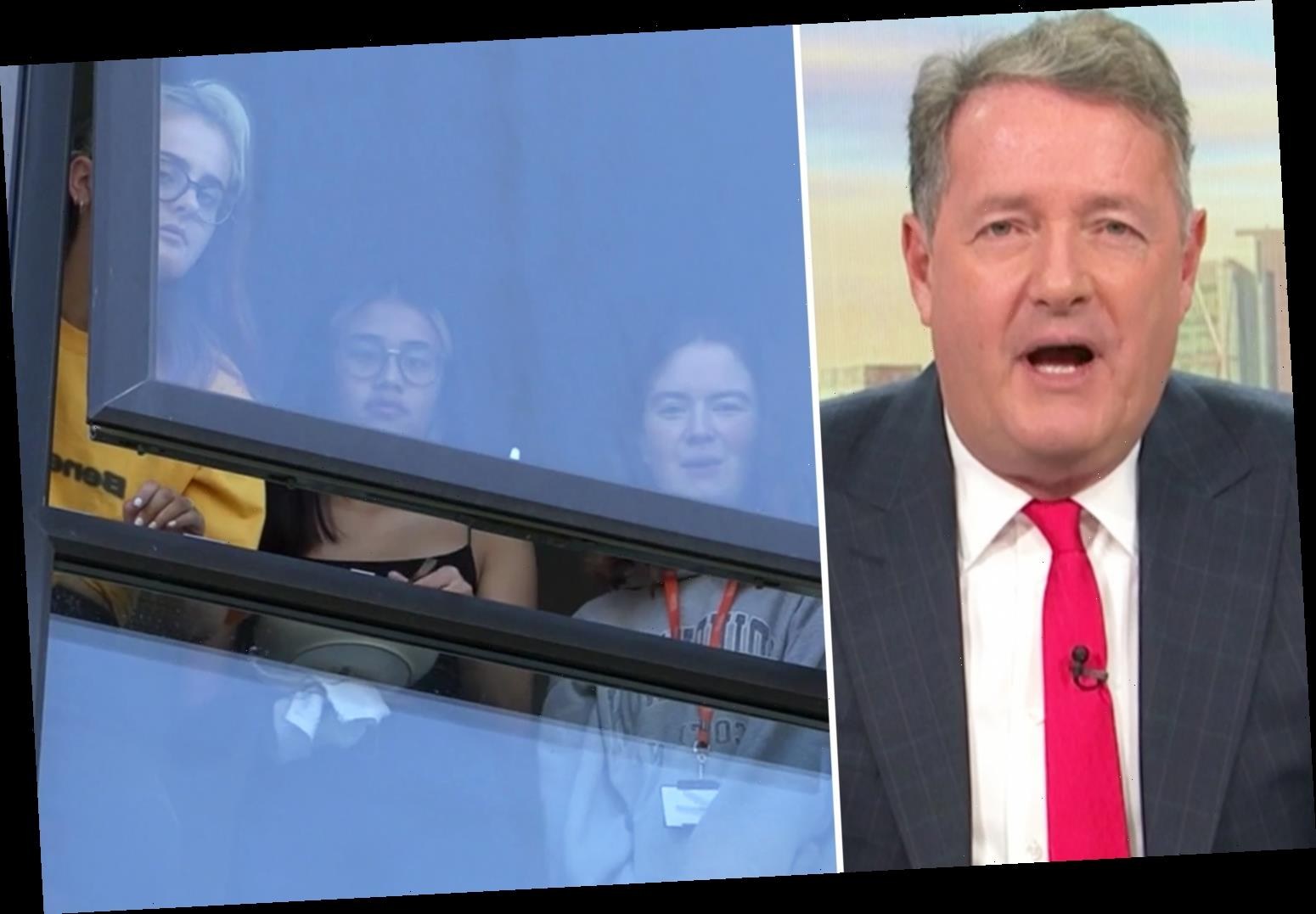 Piers Morgan calls for students to be set free after coronavirus sweeps through universities