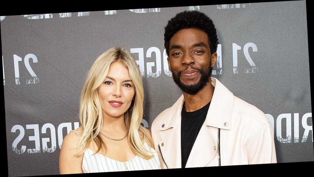 Chadwick Boseman Cut His Salary So Costar Sienna Miller Could Make More
