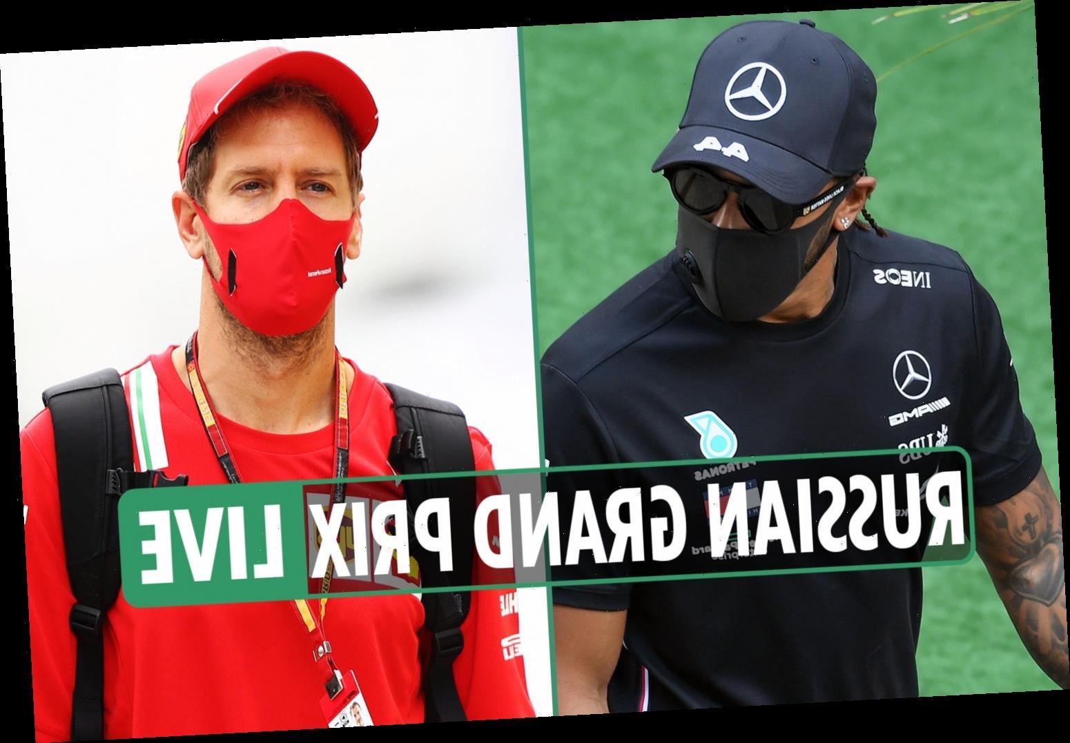 F1 Russian Grand Prix 2020 LIVE: Hamilton POLE ahead of Verstappen and Bottas – latest updates – The Sun