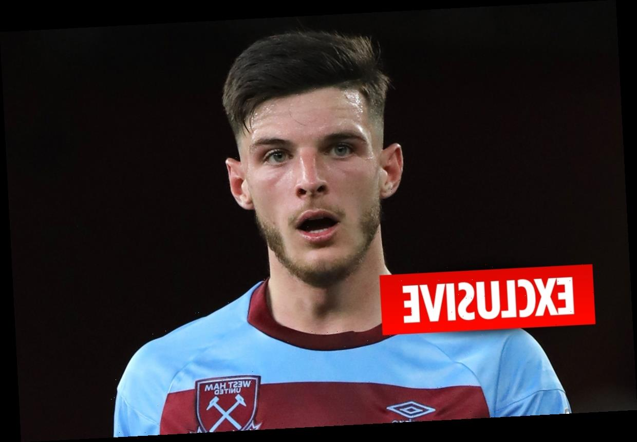 Chelsea set to launch £40m-plus Declan Rice transfer raid as they think West Ham are desperate for the cash