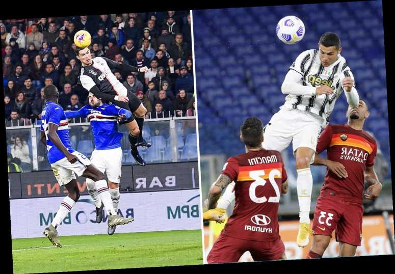 The fitness secrets that help Cristiano Ronaldo leap 8ft 5ins in the air after another stunning header for Juventus – The Sun