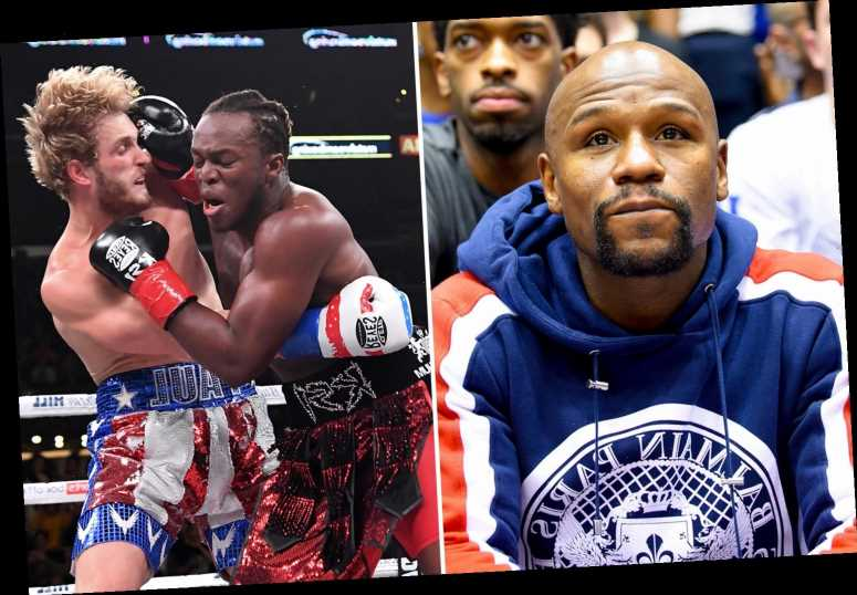 KSI slams Floyd Mayweather vs Logan Paul bout as YouTube star asks 'why the f*** would he want to fight second best?'