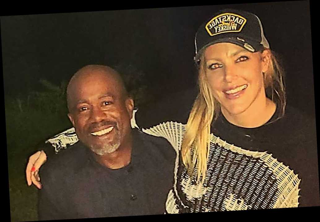 Darius Rucker dating comedian Kate Quigley after split from wife Beth