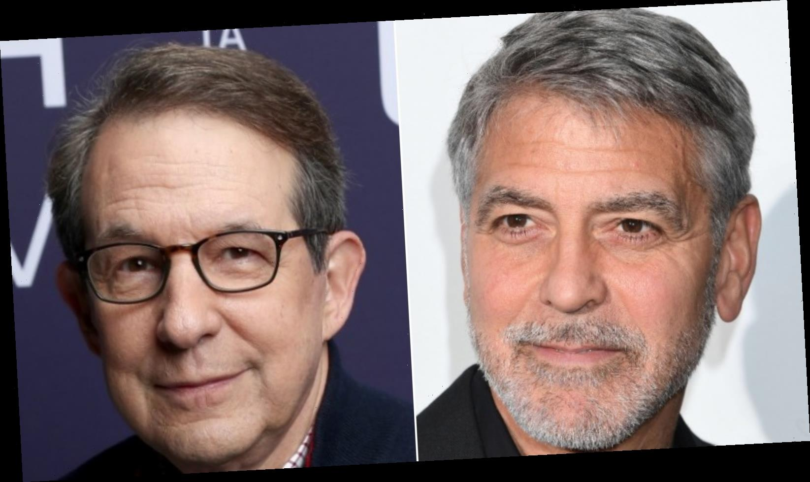 The truth about Chris Wallace's relationship with George Clooney