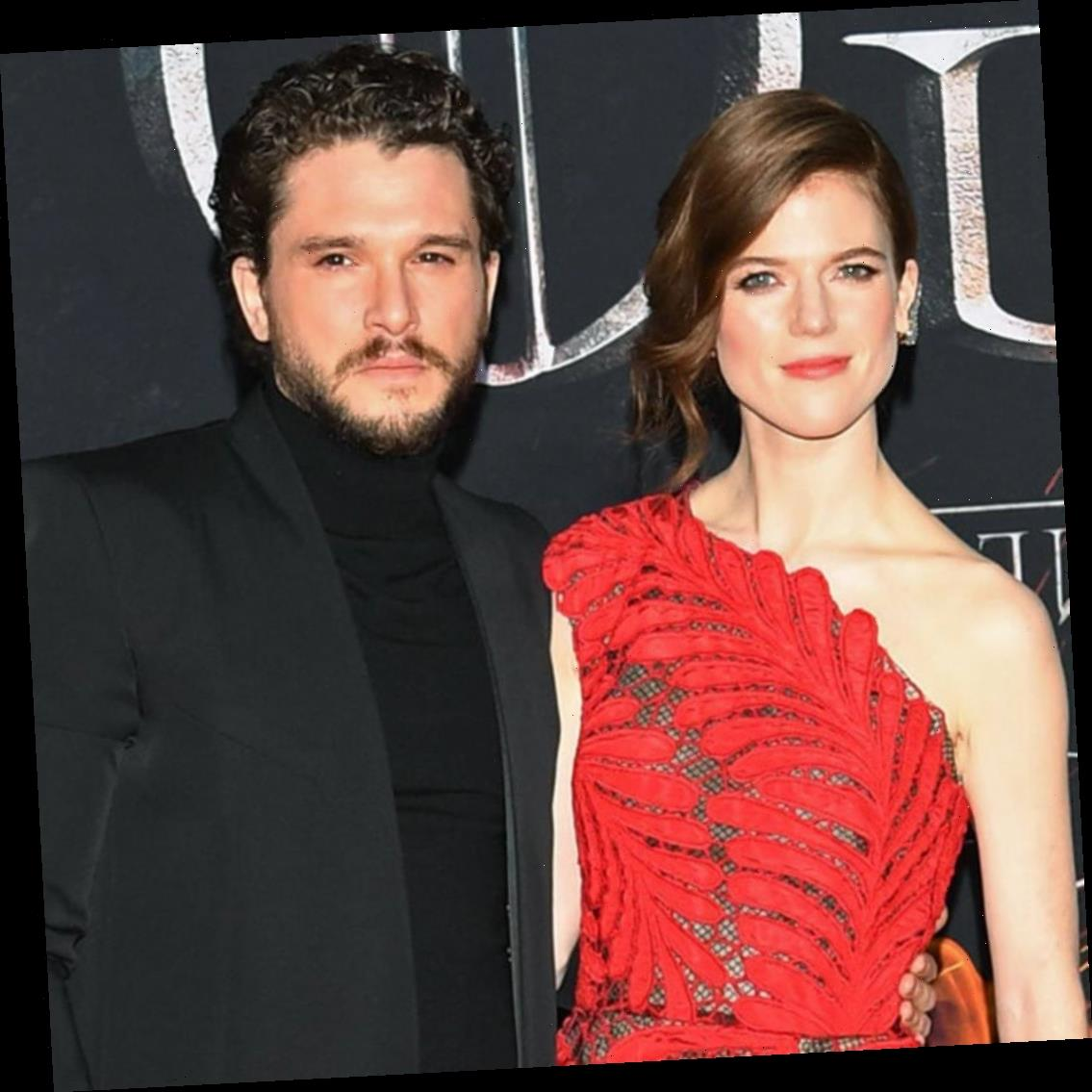 Rose Leslie Subtlety Shows Off Her Baby Bump During Outing With Husband Kit Harington