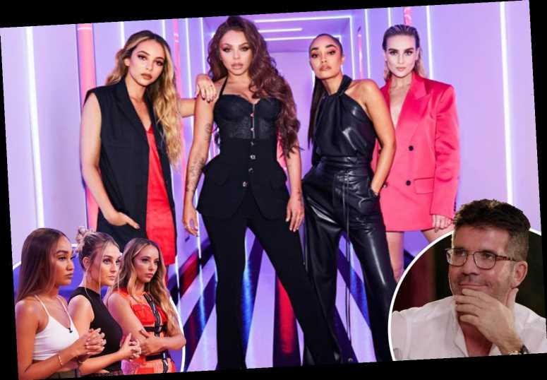 Little Mix say they could've done with more support & will give it to artists on new talent show in dig at Simon Cowell