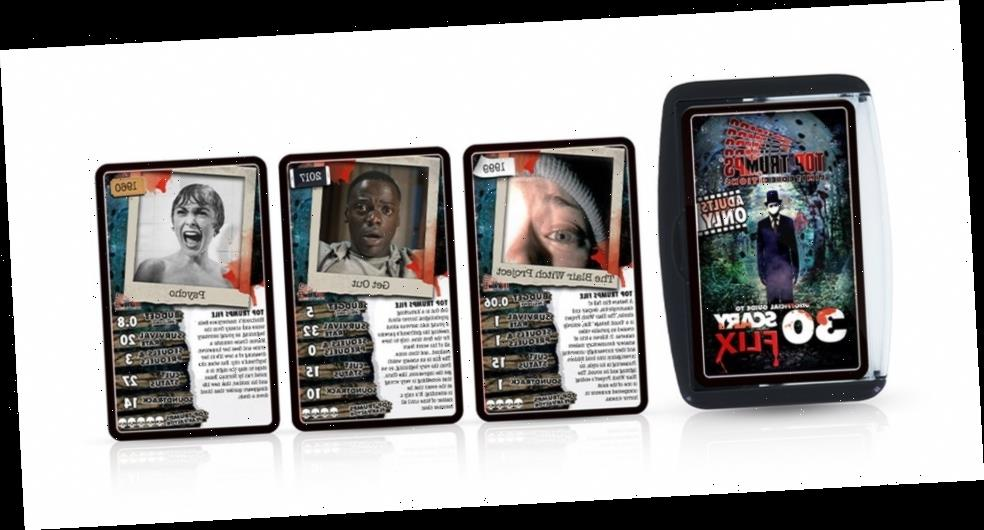 Top Trumps Launches 'Scary Flix' Deck For Halloween