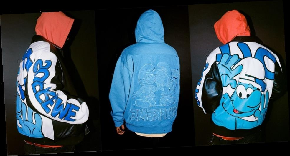 Supreme x 'The Smurfs' Fall/Winter 2020 Collection