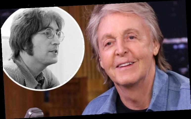 Paul McCartney: The Beatles star gets 'sign' ahead of interview with John Lennon's son