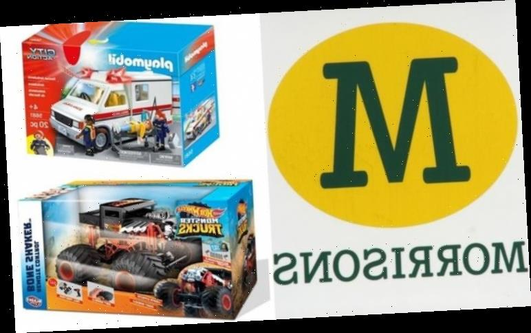 Morrisons launch Christmas toy sale with 50% off popular brands