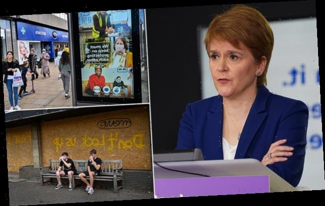 Nicola Sturgeon is rocked by coronavirus lockdown backlash