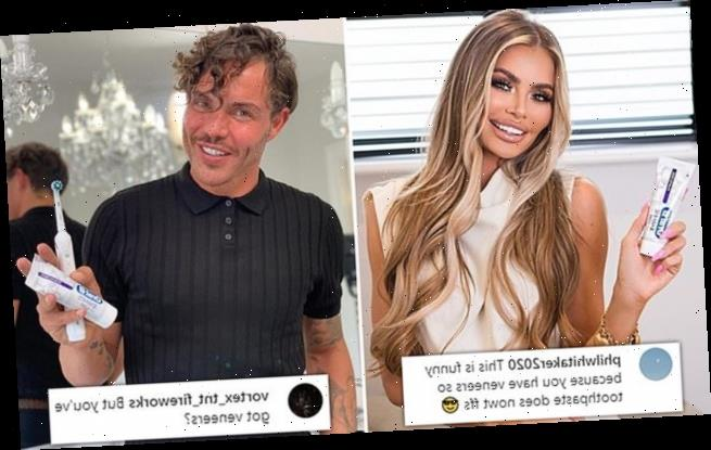 Chloe Sims faces backlash from fans for Oral B whitening toothpaste ad