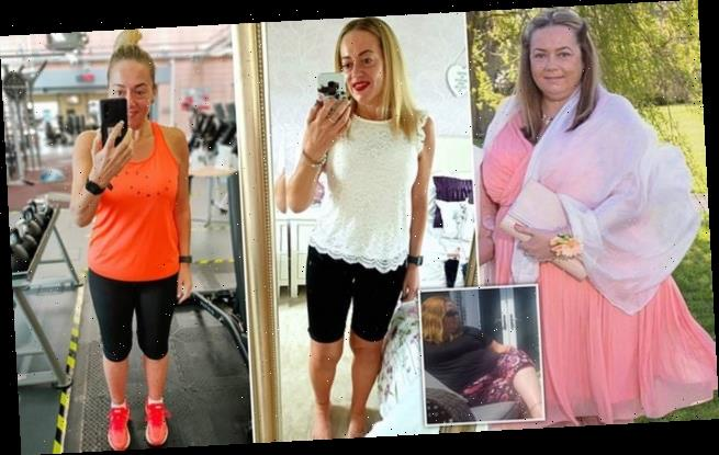 Mother-of-two sheds an impressive 12 STONE in two years