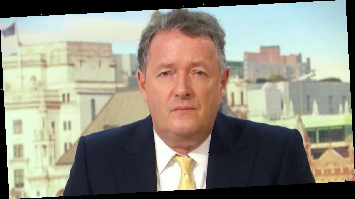 Piers Morgan tells son Spencer to 'get a grip' in spat over new lockdown restrictions