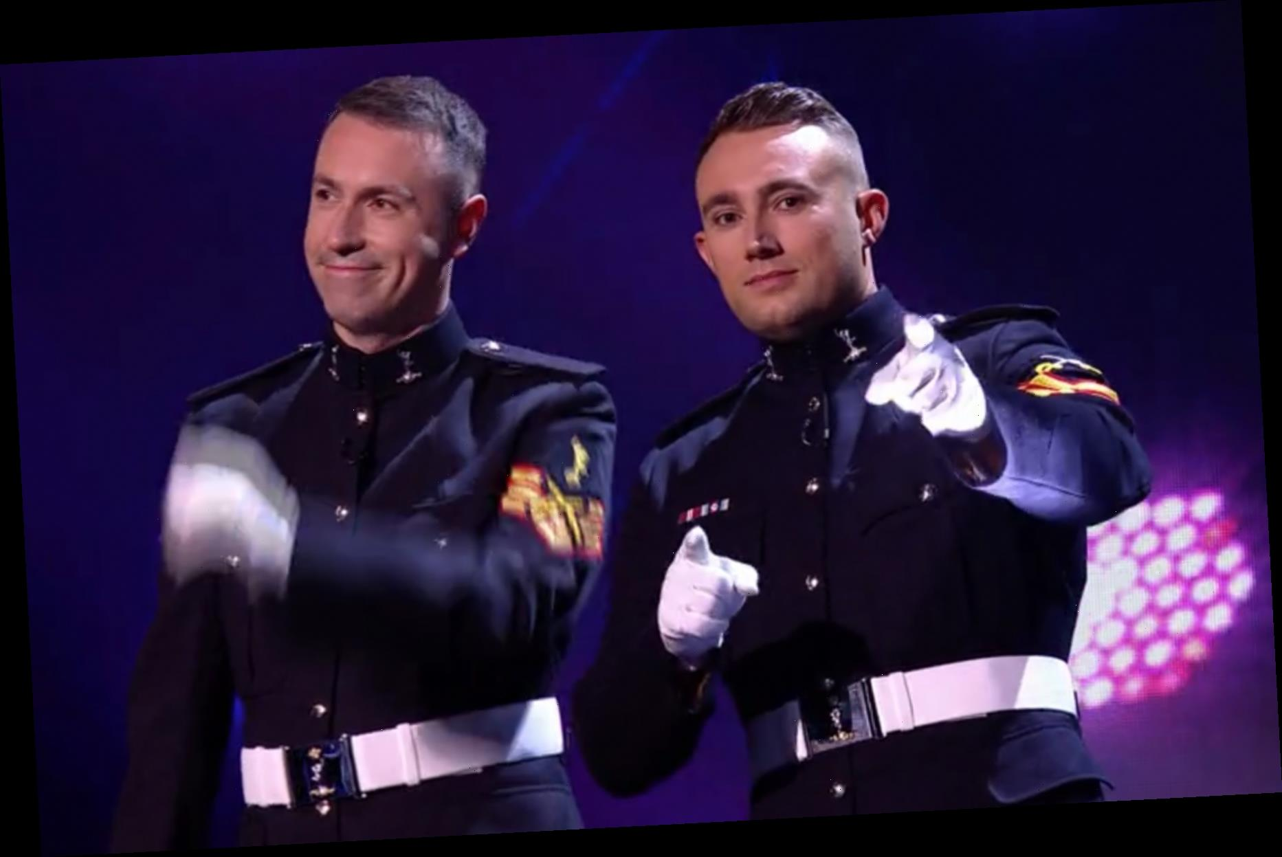 Britain's Got Talent act Soldiers of Swing say they are 'swingers' in hilarious blunder