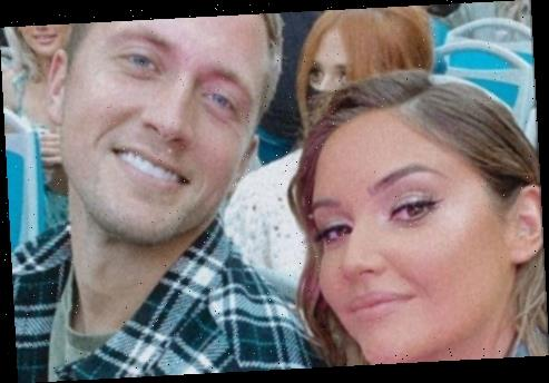 Jacqueline Jossa parties on double decker bus to fake tan launch as she cosies up with husband Dan Osborne