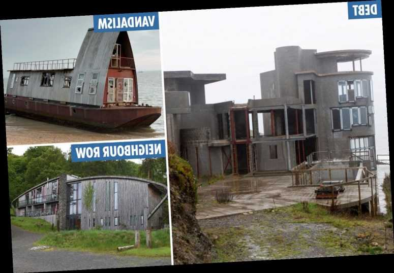 Grand Designs' rotting homes – the epic builds that've been trashed by vandals, left derelict and destroyed families – The Sun