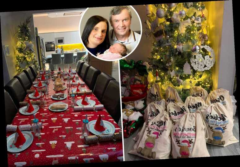 Britain's biggest family share their savviest Christmas tips… and reveal how long it takes to wrap presents for 22 kids