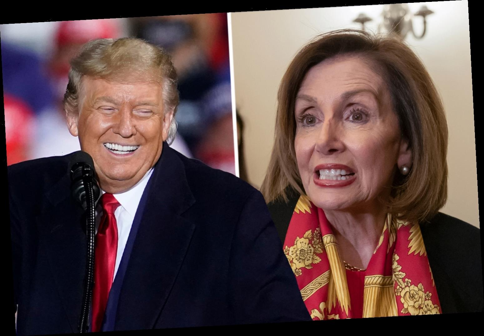 Trump promises 'best stimulus package you've ever seen' after election and blames Pelosi for delay