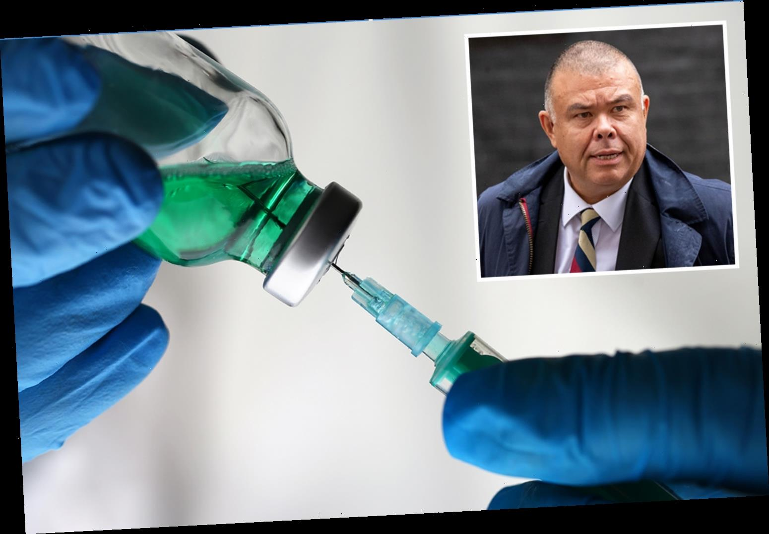 Covid vaccine 'could launch shortly after Christmas' as thousands of NHS staff to be trained to give jab