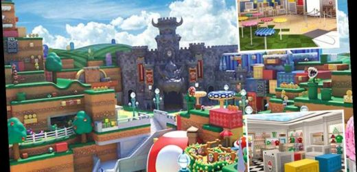 Nintendo theme park with real-life Mario Kart and Yoshi ride to open in 2021 – after being postponed due to Covid