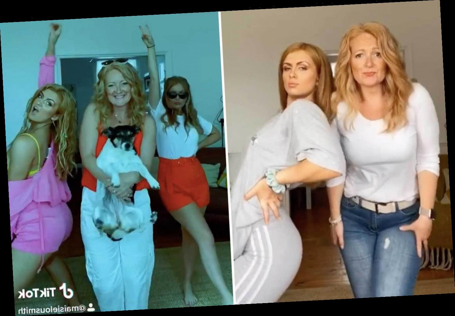 Maisie Smith's lookalike mum is parenting goals as she dances on Tik Tok and does puppy yoga