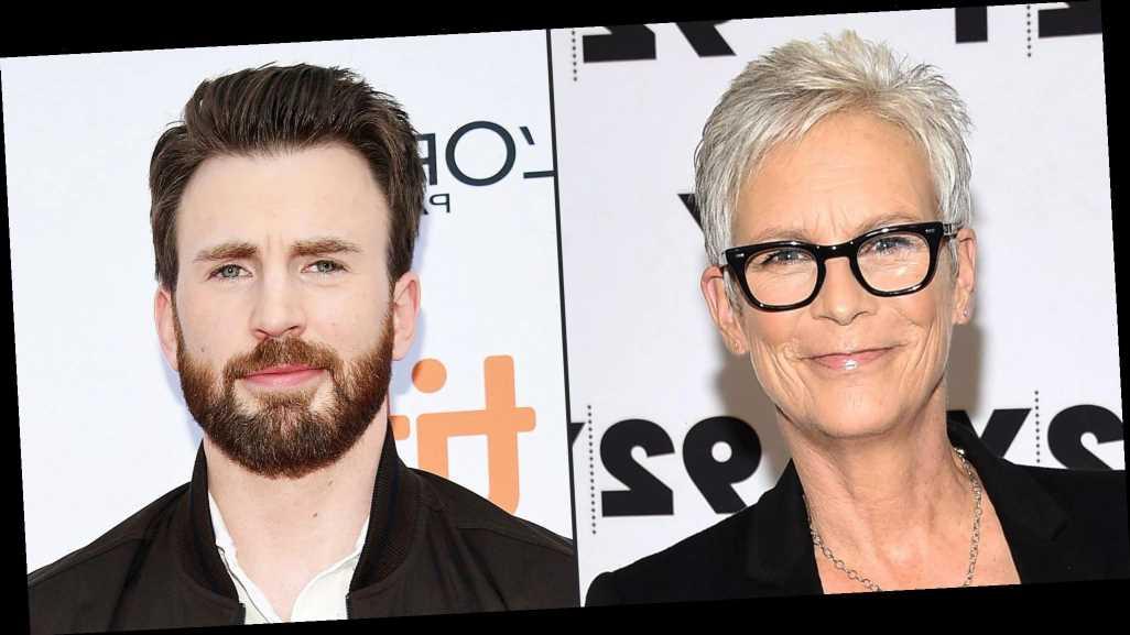 Jamie Lee Curtis Wonders If Chris Evans 'Planned' His Nude Photo Leak