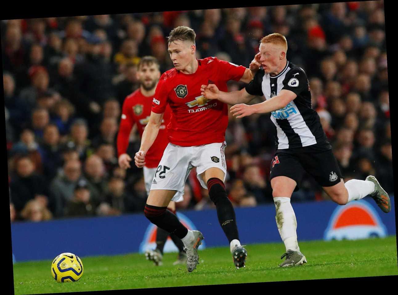 Newcastle vs Man Utd: Live stream, TV channel, team news, kick off time for TONIGHT'S Box Office clash