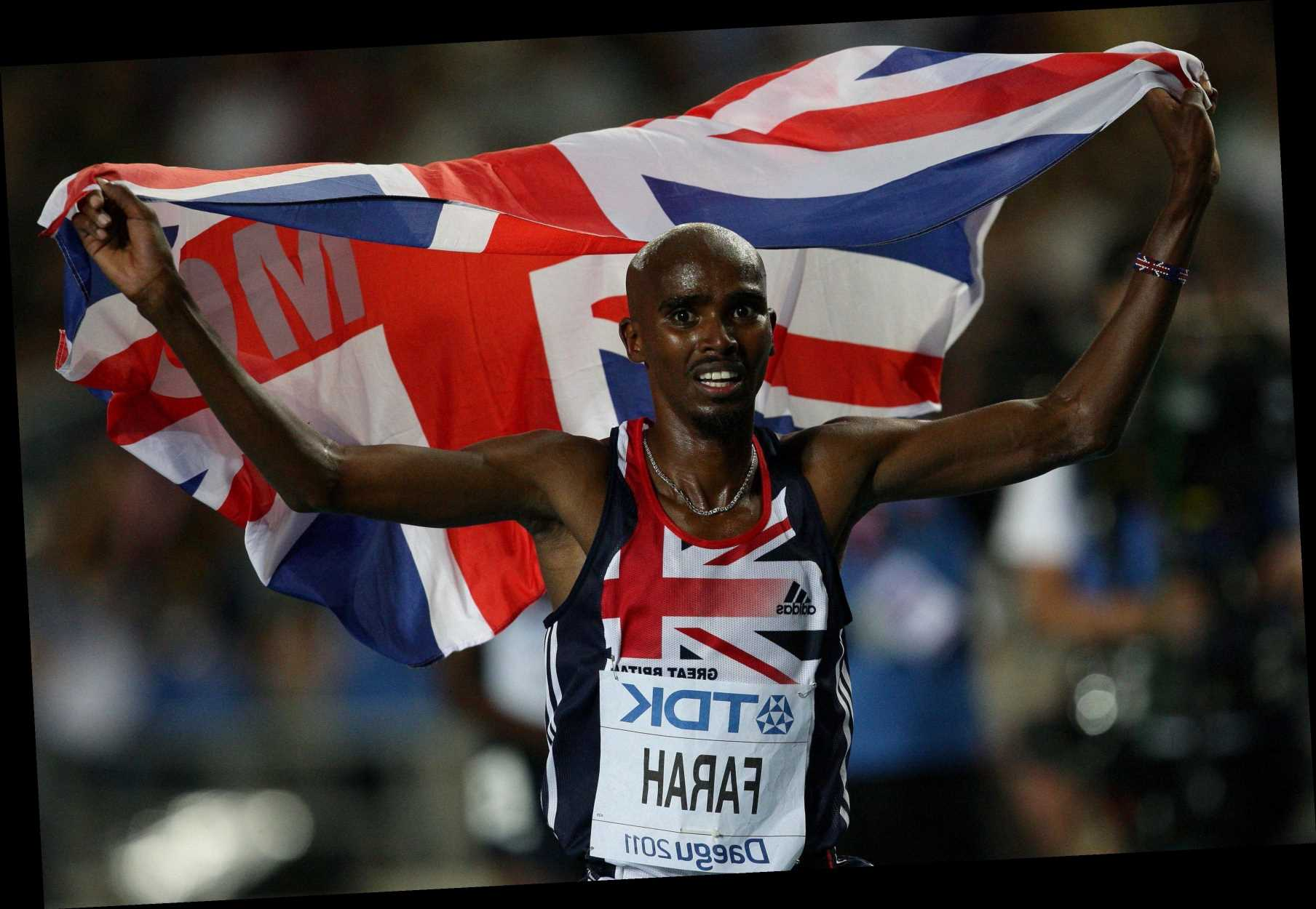Who is Mo Farah's wife Tania, how many children do they have and how long have the couple been married?