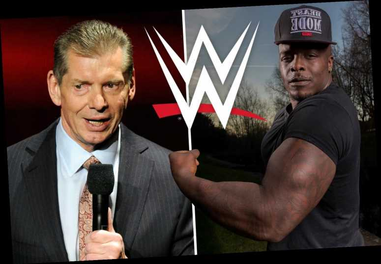 Adebayo Akinfenwa holds talks with WWE over shock move into Vince McMahon's wrestling promotion aged 38