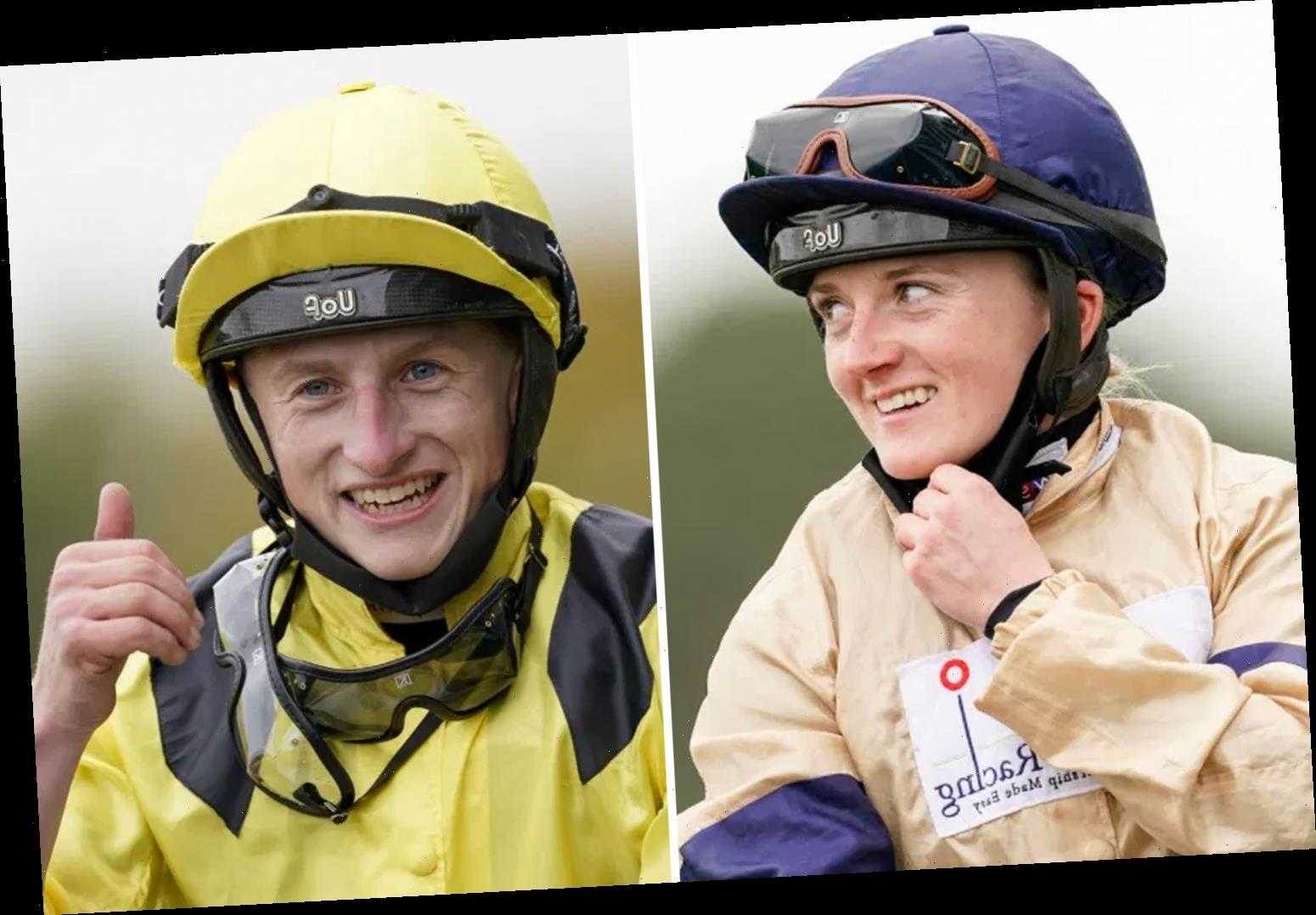 Champions Day: Racing's new power couple Hollie Doyle and Tom Marquand dominate at Ascot with four winners between them