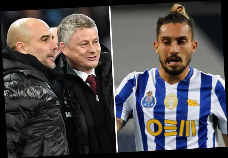 Man Utd boss Solskjaer 'pleads with board to pay £18m for Telles transfer' as Porto offer him to Man City