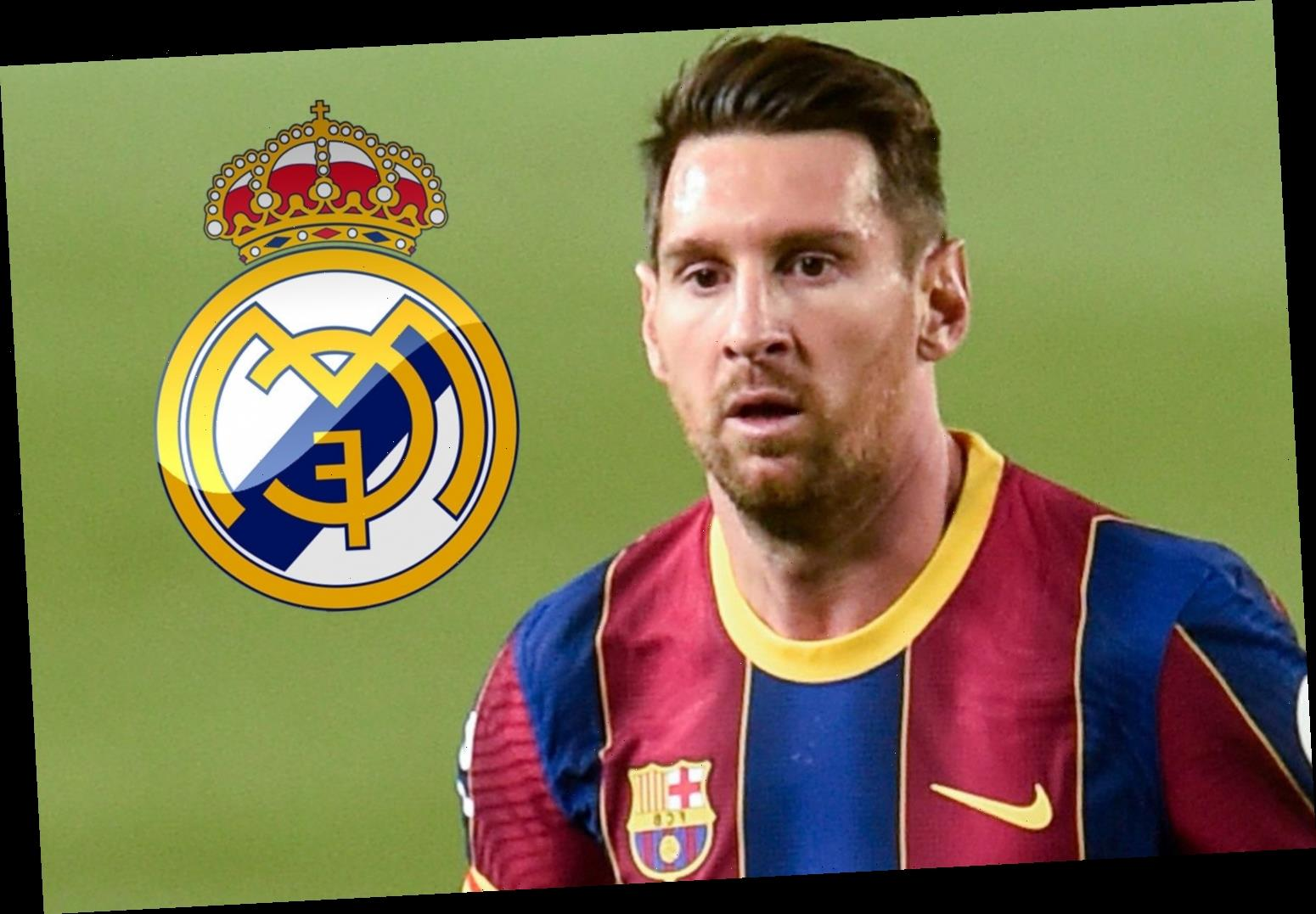 Real Madrid almost signed Barcelona's Lionel Messi in shock £225m transfer but told rivals 'you're wasting your time'