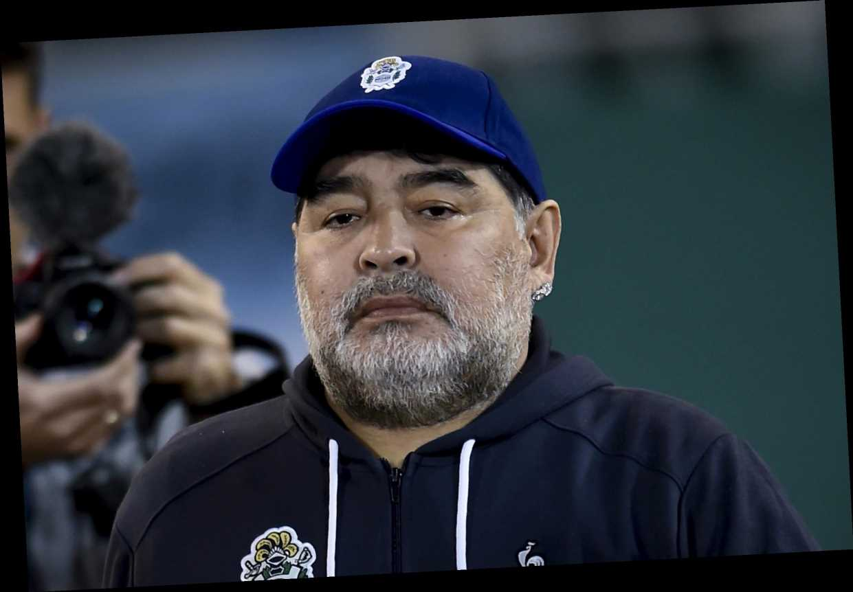 Diego Maradona forced into quarantine at home over coronavirus fears after bodyguard shows symptoms