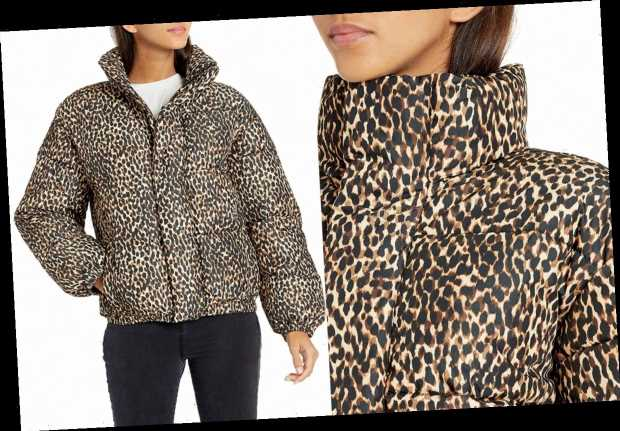 People Are Already Raving About This New Leopard-Print Puffer on Amazon — and It's Only $64