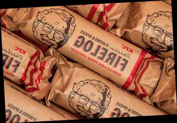 Walmart's KFC Fried Chicken-Scented Fire Log Is Back (but Not for Long)