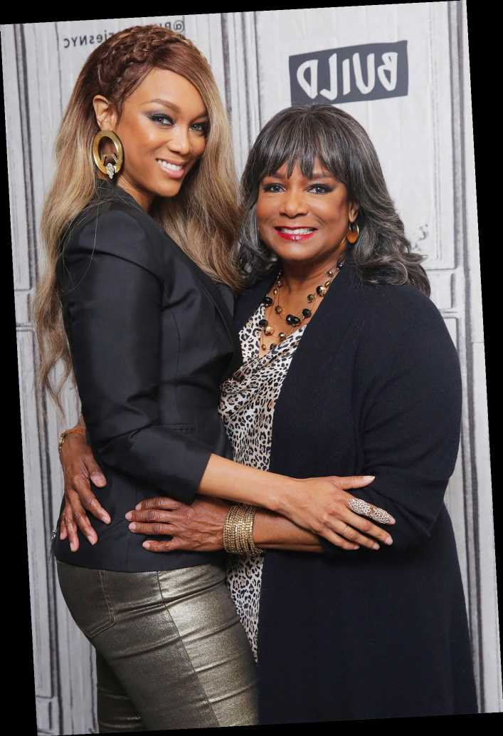 Tyra Banks Says Her Mother Convinced Her to Take DWTS Hosting Gig